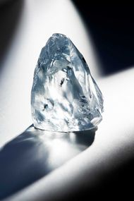 Petra Diamonds unearths exceptional 122ct blue diamond at its Cullinan mine