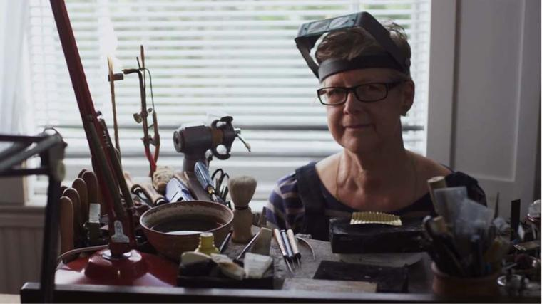 Gold: watch this fascinating film about the favourite metal of master goldsmith Jacqueline Mina OBE