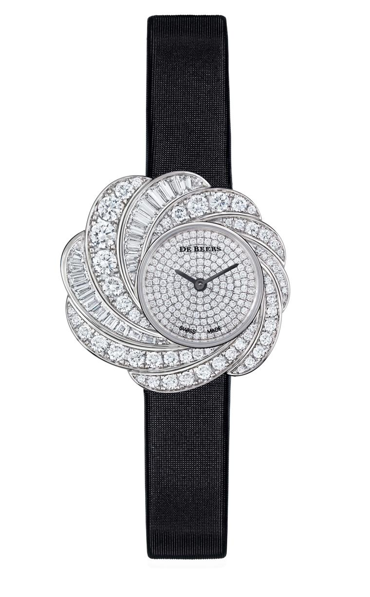 A symphony of diamonds: the new De Beers Aria watches