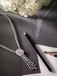 A new icon from De Beers: the Aria diamond jewellery collection