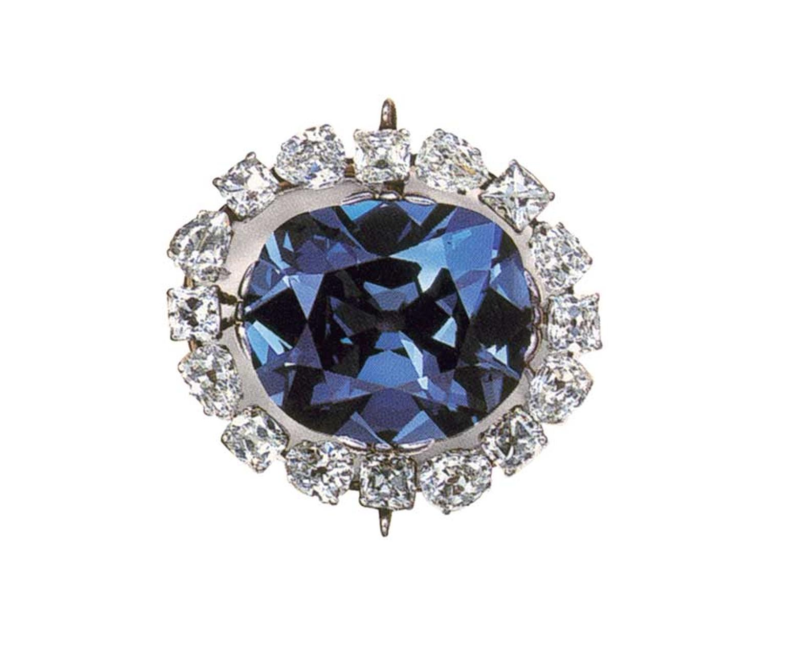 Arguably the most famous diamond in the world, the 45.52ct Hope Diamond, dating from the 17th century and worth a reported $350 million, is on display at the Smithsonian Museum in Washington, DC.