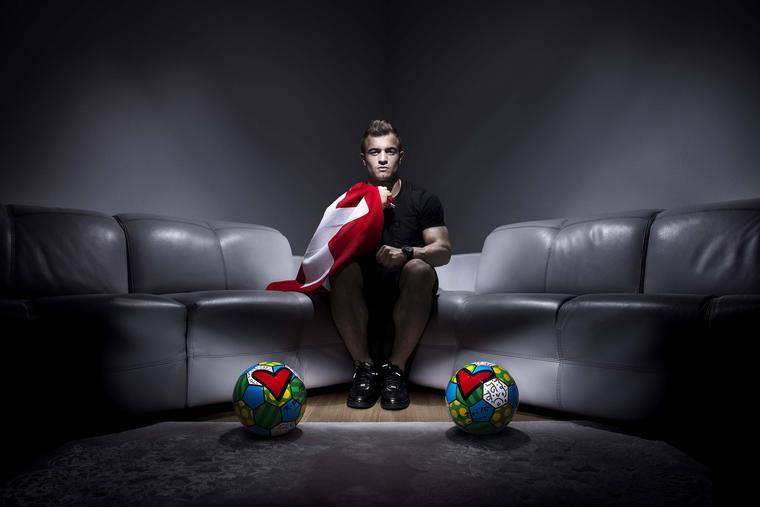 Hublot has taken advantage of the World Cup to recruit new brand ambassadors, including the popular Swiss midfielder Xherdan Shaqiri.