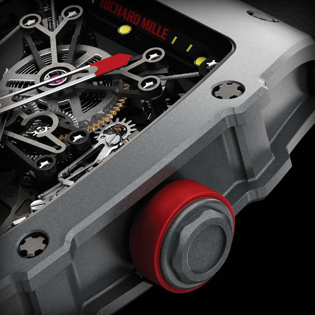 The Richard Mille RM 27-01 Tourbillon Rafael Nadal watch has been subjected to intensive tests to optimise its resilience and shock resistance.