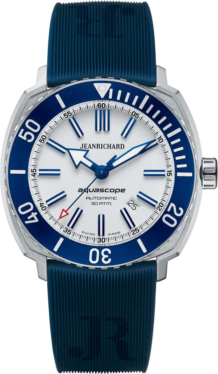 Rejuvenated Swiss watch brand JeanRichard becomes a major player in the luxury sports watch market