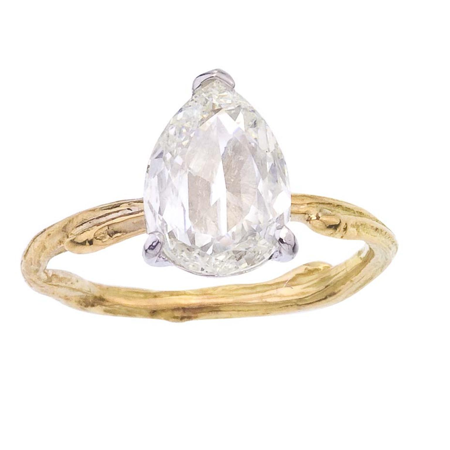 vintage ethical matching wedding diamond sapphire engagement white with recycled gold gallery and ring diamonds rings