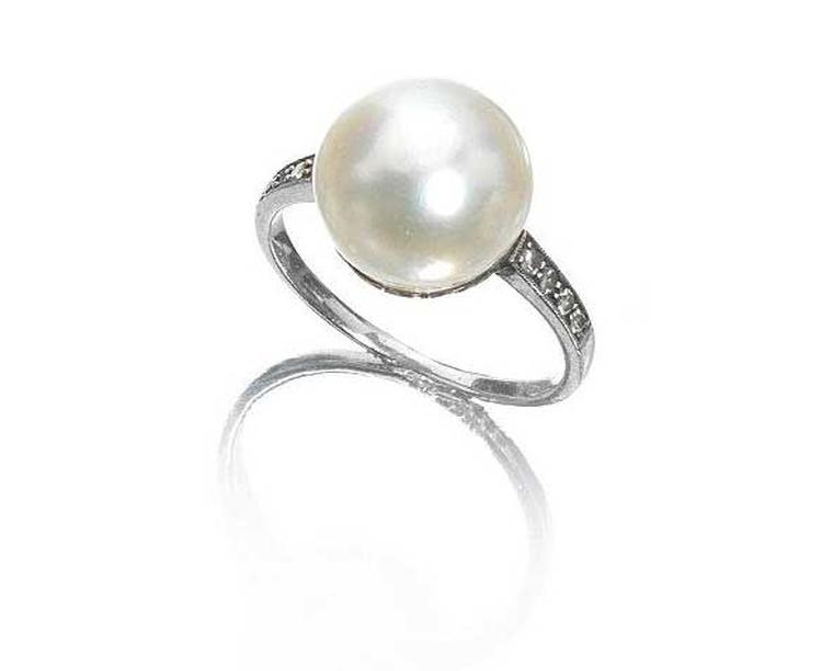A single natural pearl measuring 11.5mm, mounted as a ring, sold at Bonhams London in April 2014 for £30,000, 10 times its upper estimate.