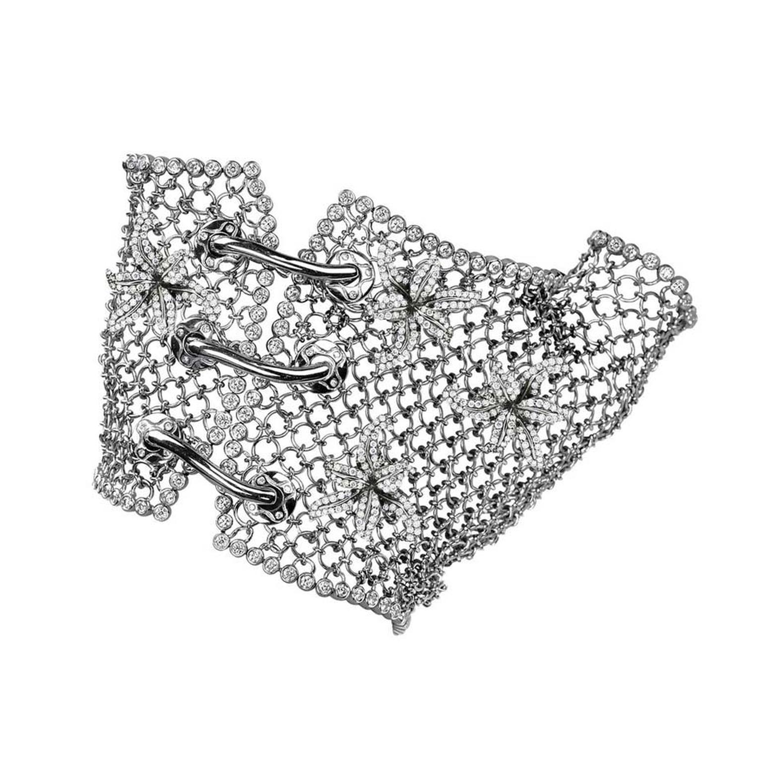 Colette Entwined In You white gold glove with white diamonds ($48,000).