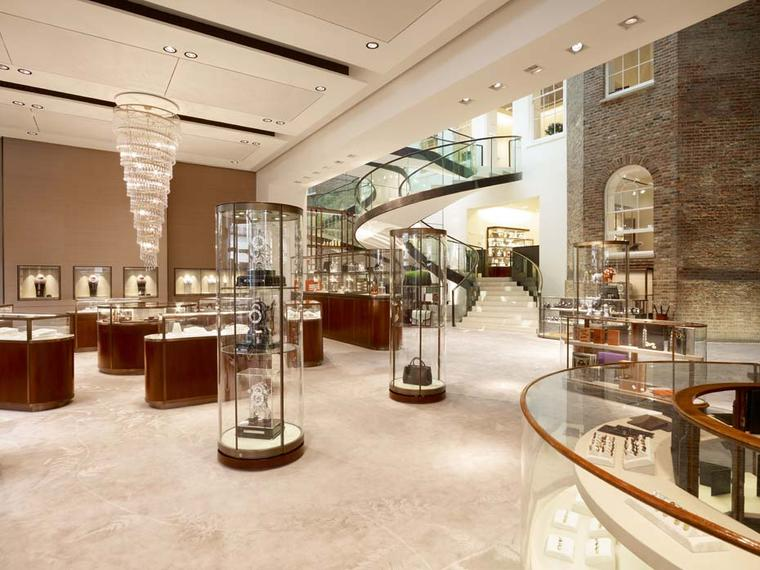 Asprey's recently renovated New Bond Street flagship store now has a section devoted to Swiss watchmaker Bovet's creations.