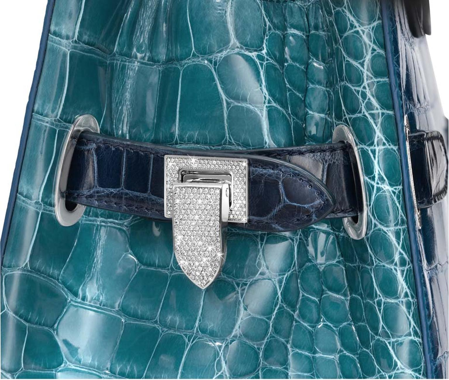 Asprey's 2013 jewel encrusted handbag.