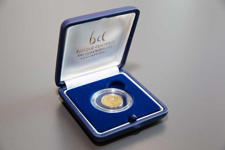 Bank of Luxembourg launches collector coin made from certified Fairtrade and Fairmined gold
