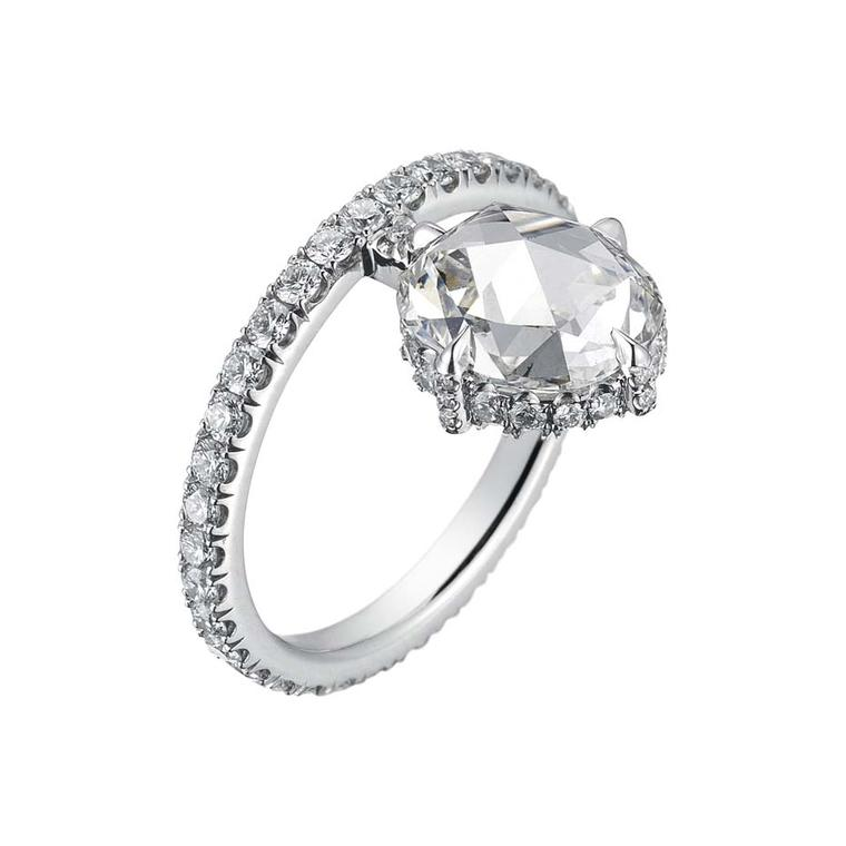 Finn Jewelry oval cut diamond ring recently took home first prize for bridal jewellery at the Couture Show in Las Vegas.