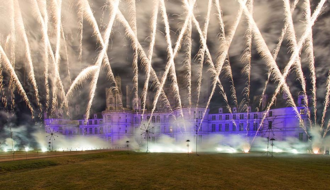 A Renaissance-style wedding feast, procession of fantastical animals and explosive fireworks display accompanied the launch of Van Cleef & Arpels' Peau d'Âne collection at Chateau Chambord.