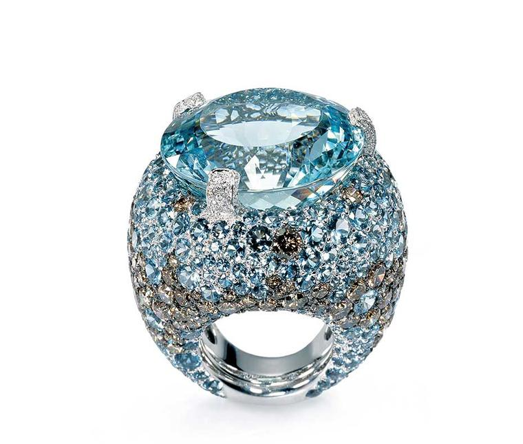 From talisman to star of high jewellery: a short history of aquamarine