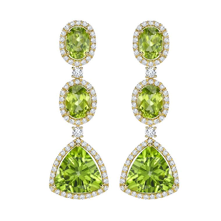 Zesty green peridot jewellery: gemstone of the hot summer season
