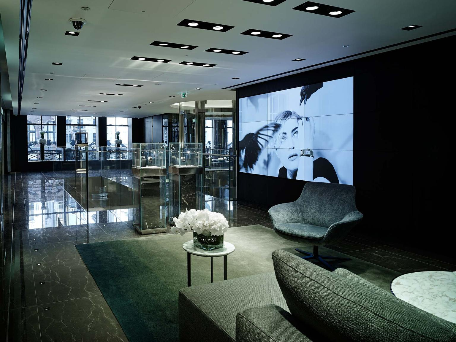 A special VIP lounge for collectors and connoisseurs is situated on the first floor of Watches of Switzerland, London's gargantuan new luxury watch emporium on Regent Street.