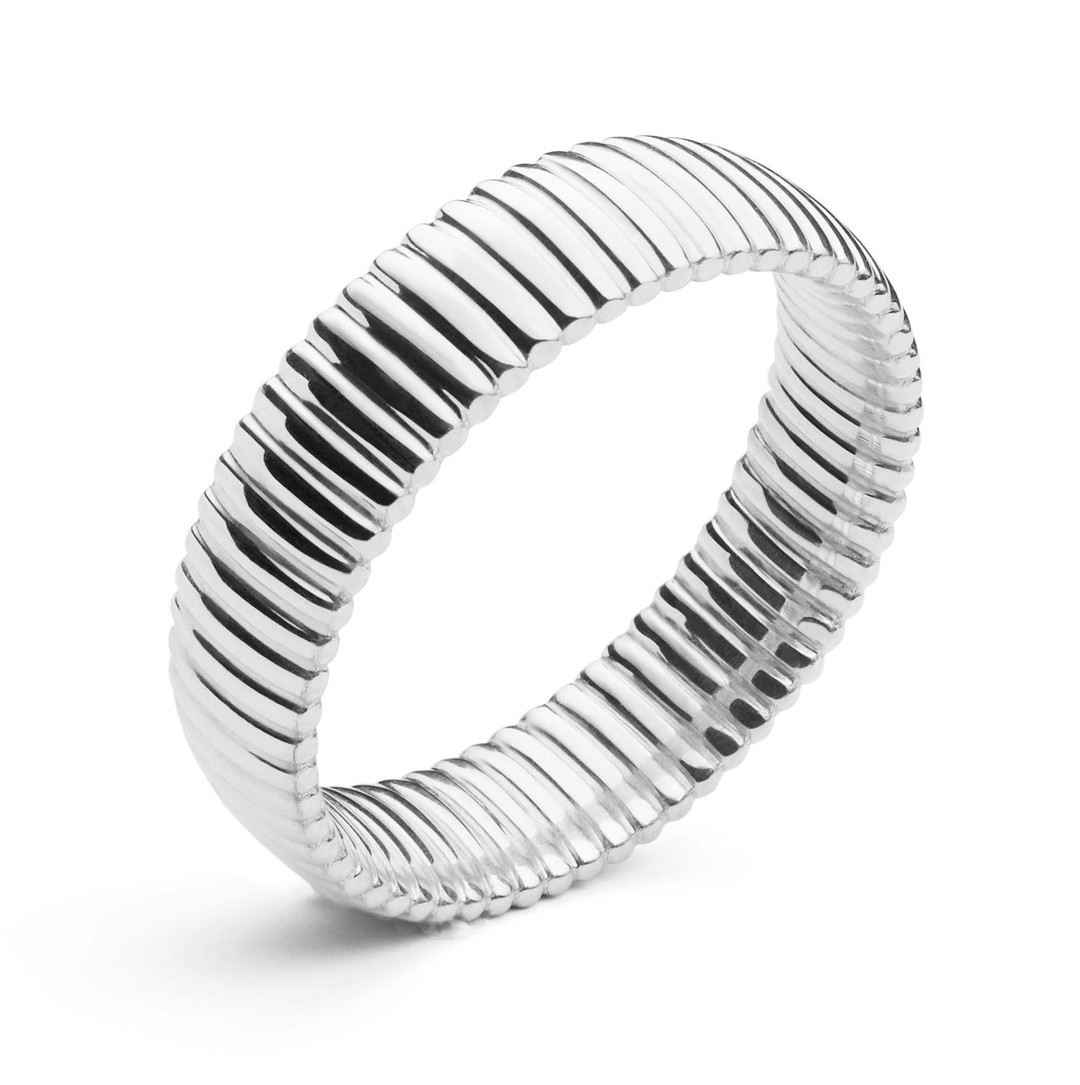 Andrew Geoghegan Cannelé Pour L'Homme wedding ring.