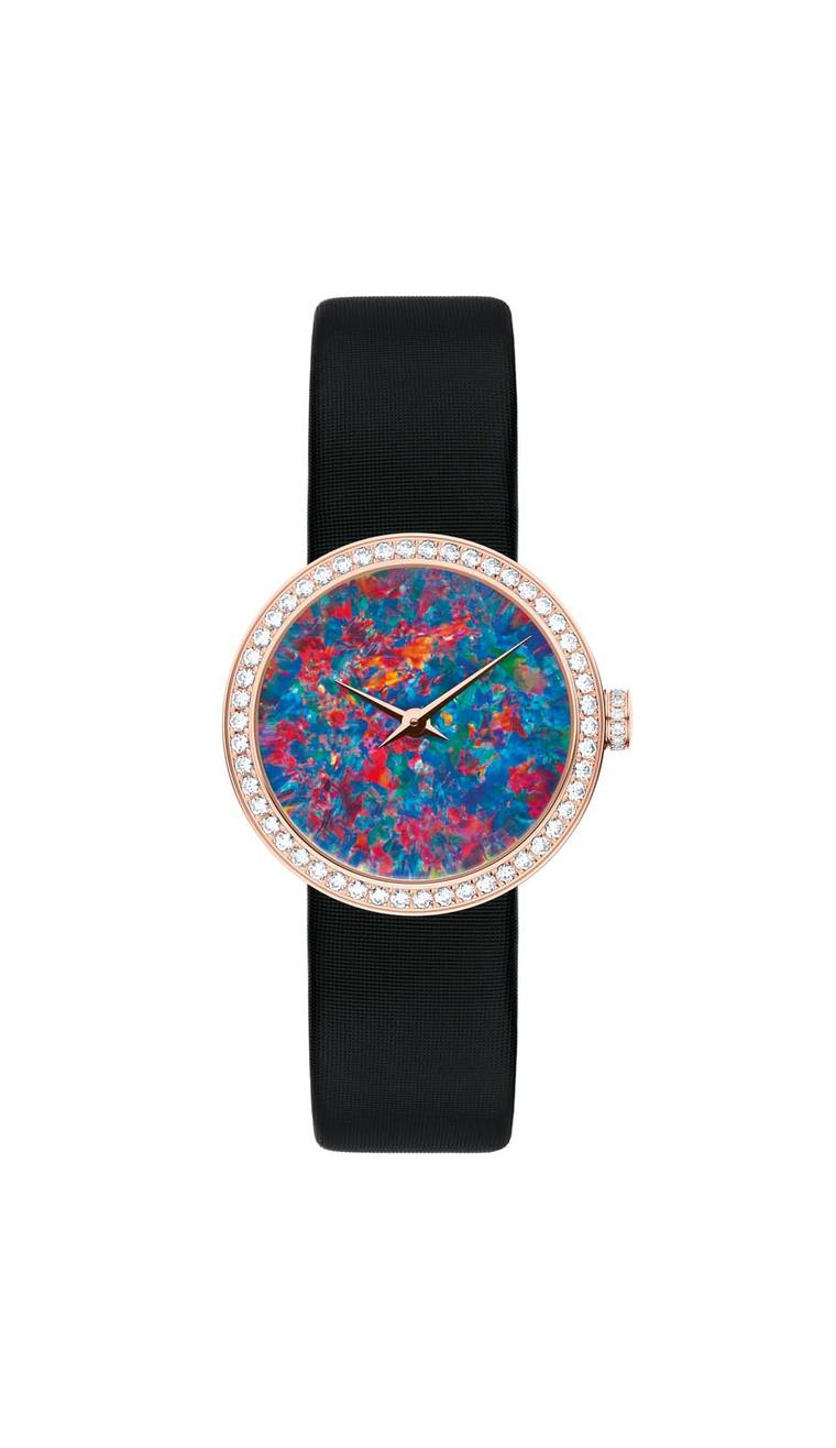 Watches tell so much more than the time when enhanced with an opal dial