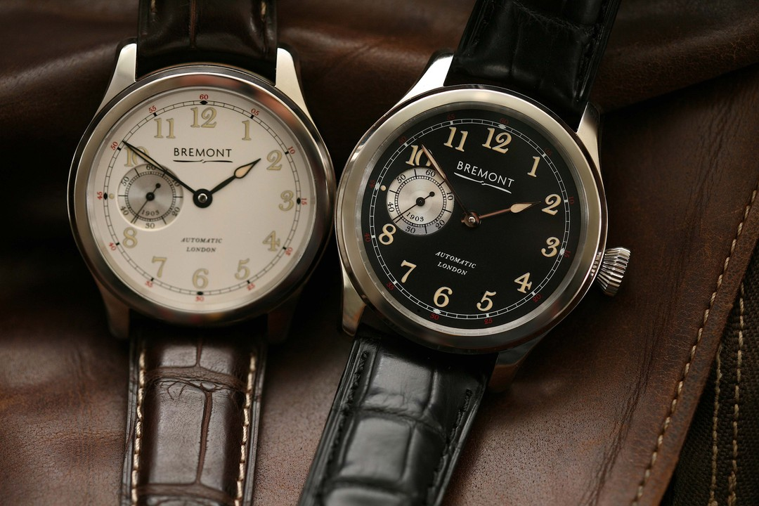 Bremont's new The Wright Flyer watch not only houses the brand's first British-made in-house movement. Embedded in each watch is a small piece of the muslin material used to wrap The Wright Flyer, the first plane ever to become airborne, flown by the Wrig