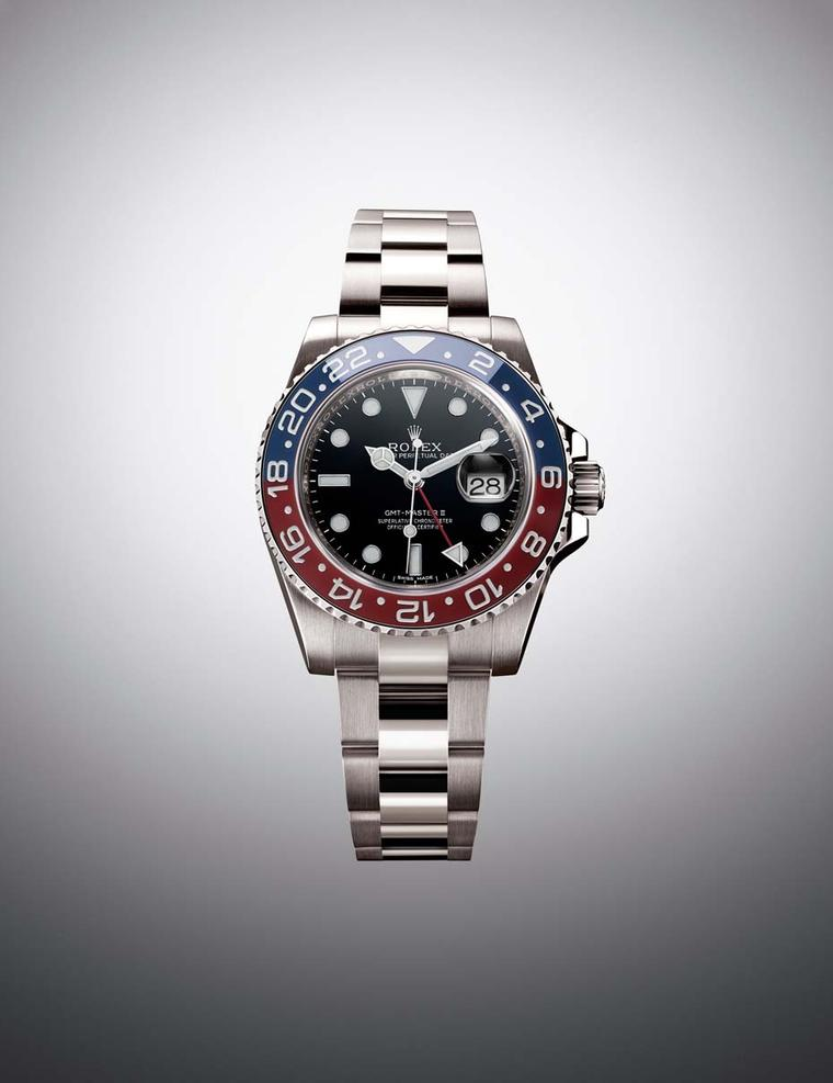 Rolex GMT-Master Pepsi watch