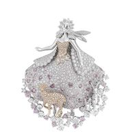 Biennale des Antiquaires 2014: Van Cleef and Arpels narrates a magical fairytale through a spellbinding collection of high jewellery