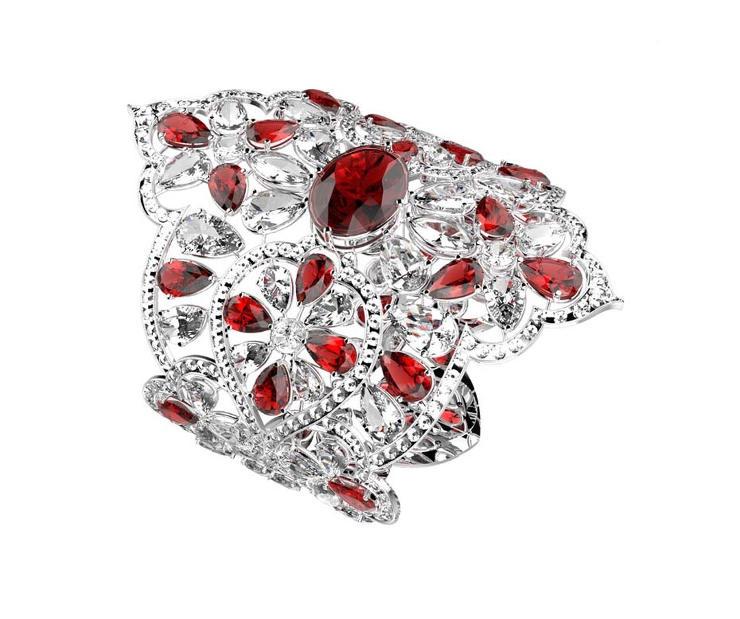 Orlov's €4 million diamond and ruby bracelet will be the star attraction at Orlov's exhibition in Monte Carlo this summer.