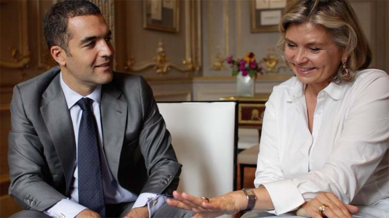 Maria Doulton visits Alexandre Reza's jewellery showroom in Paris and admires his amazing collection of rings to be showcased at this year's Biennale des Antiquaires.