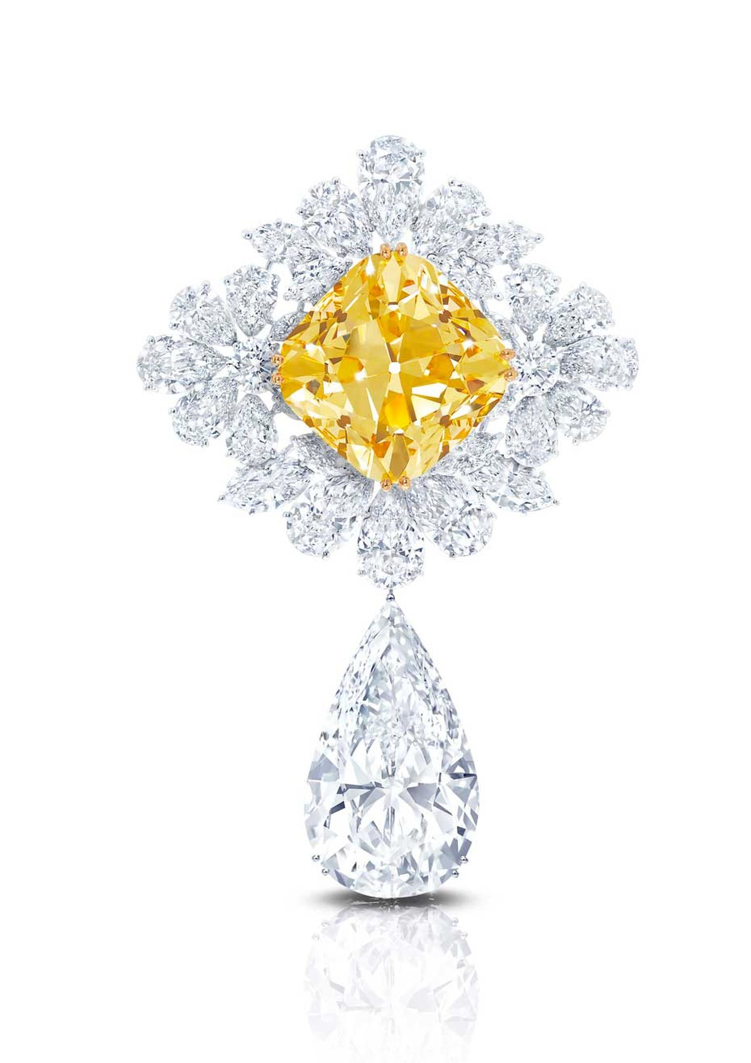 The Graff Royal Star of Paris - set with over 200ct of diamonds - is believed to be the most valuable brooch ever created.