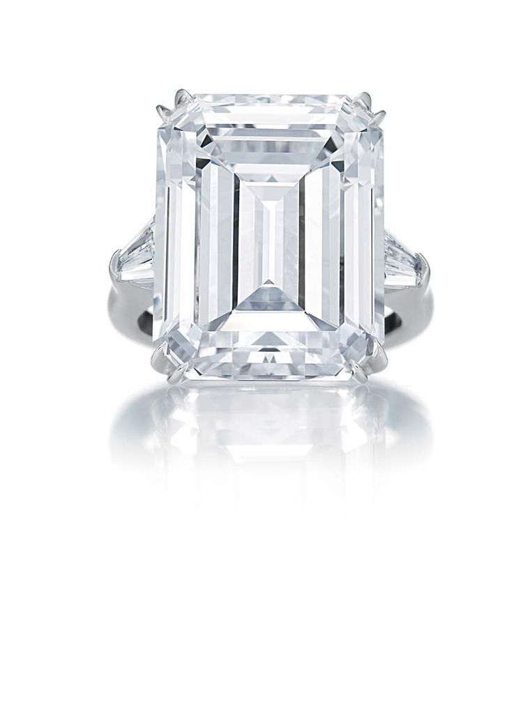 classic winston emerald cut engagement ring