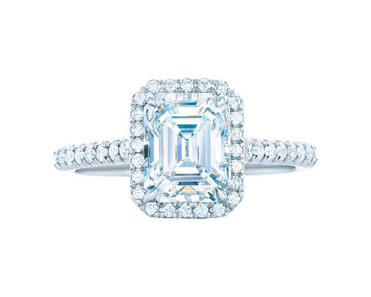 Bridal How To Buy An Emerald Cut Diamond Engagement Ring Tiffany Rings For Sale