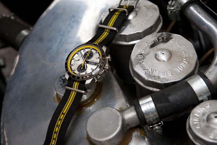 Chopard racing watches: miniature motors inspired by the aesthetics of racing place Chopard in pole position on the wrist