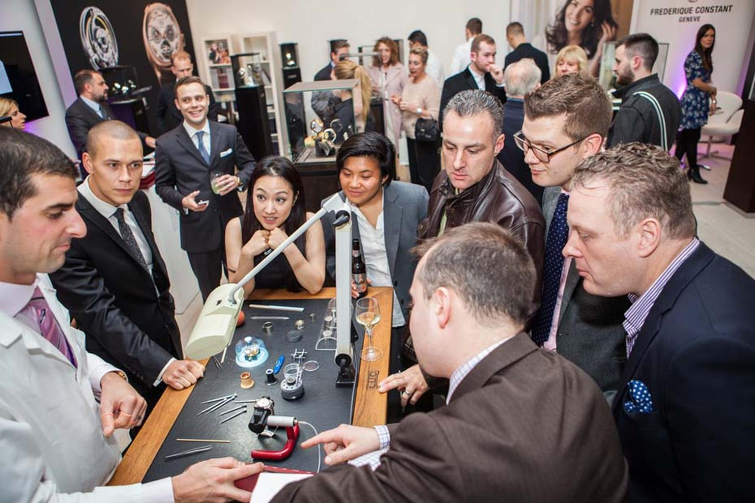 Unlike some watch shows, SalonQP is open to the public, and visitors are presented with a unique opportunity to view over 30 international brands in one place and very often chat to the watchmakers in person.