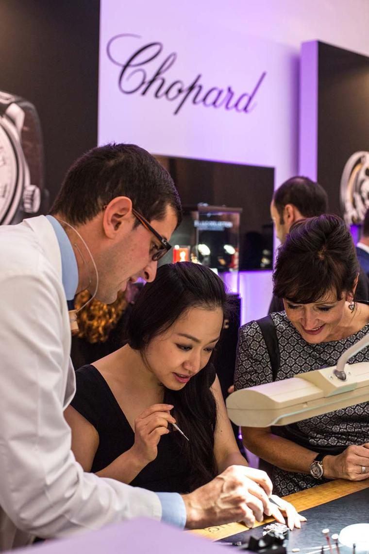 SalonQP allows brands to showcase their latest collections as well as allowing visitors the opportunity to watch on-the-spot enactments of artisans at their craft.