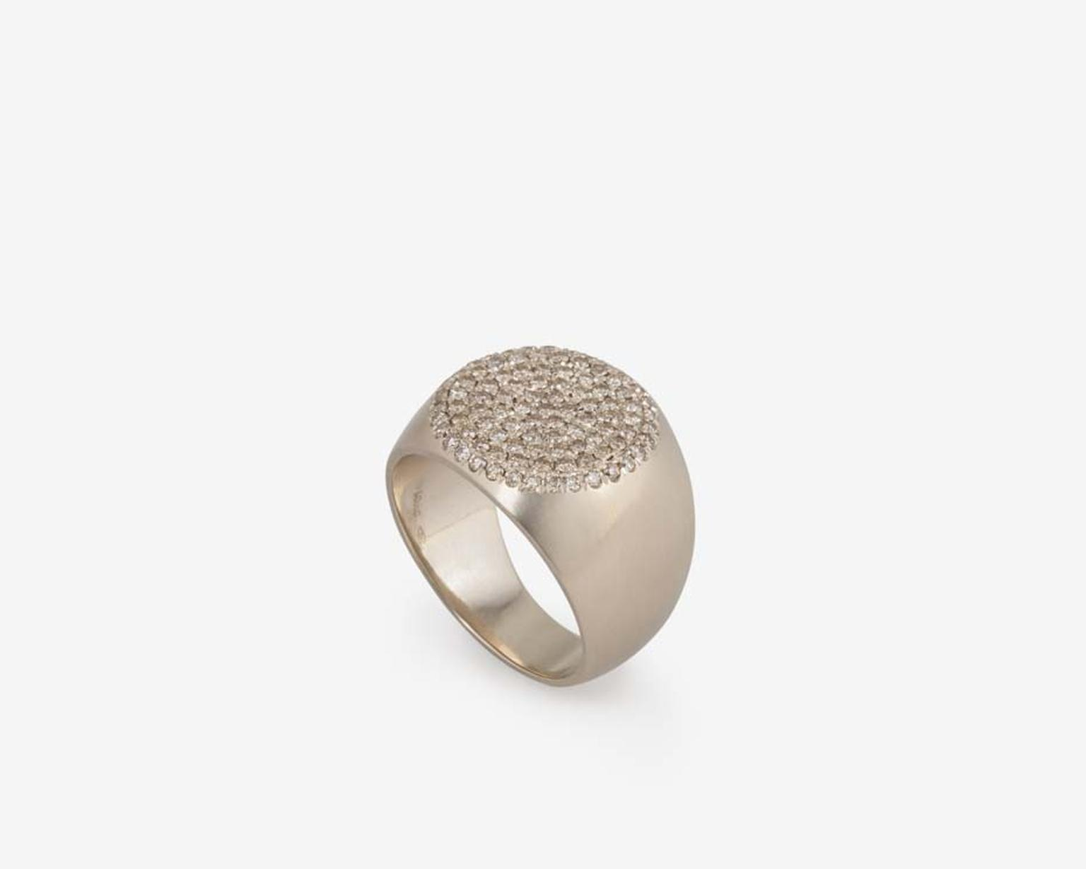 Dina Kamal's coin rings are all about purity and proportion and are designed to be worn by both men and women.