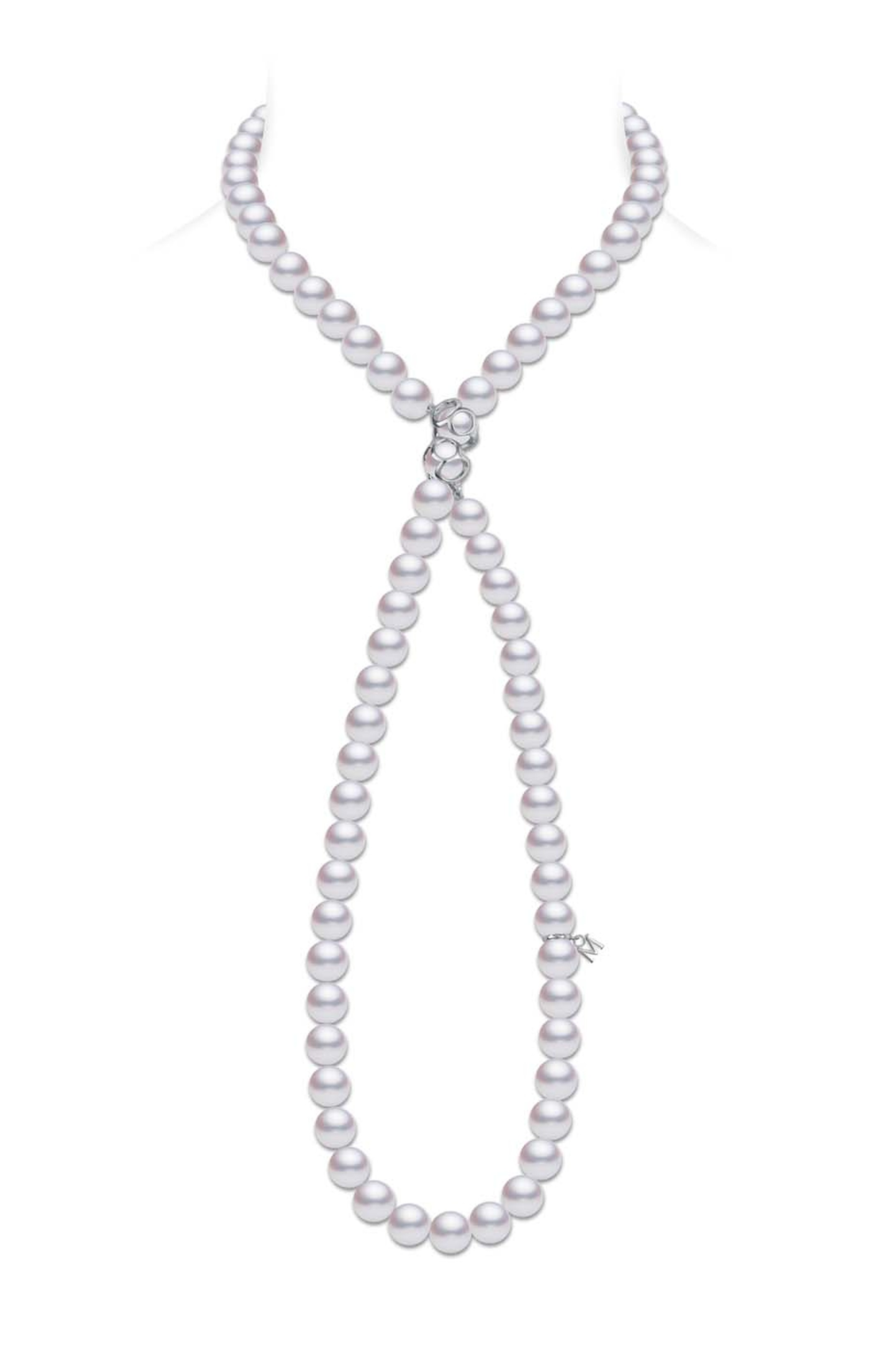 Mikimoto's Double Eight necklace is available from the pearl jeweller's New Bond Street Boutique and Harrods Fine Jewellery Room.