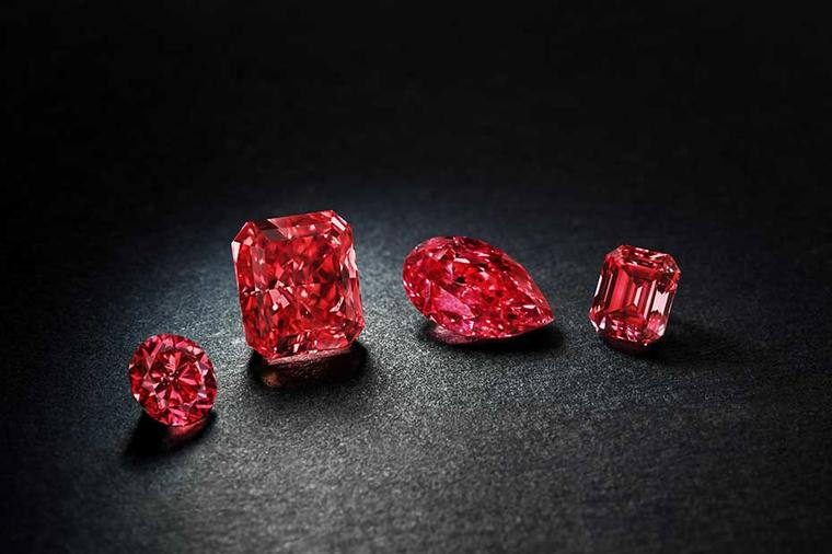 Very rare Argyle Cardinal Fancy Red diamond leads the Rio Tinto annual tender of pink gemstones