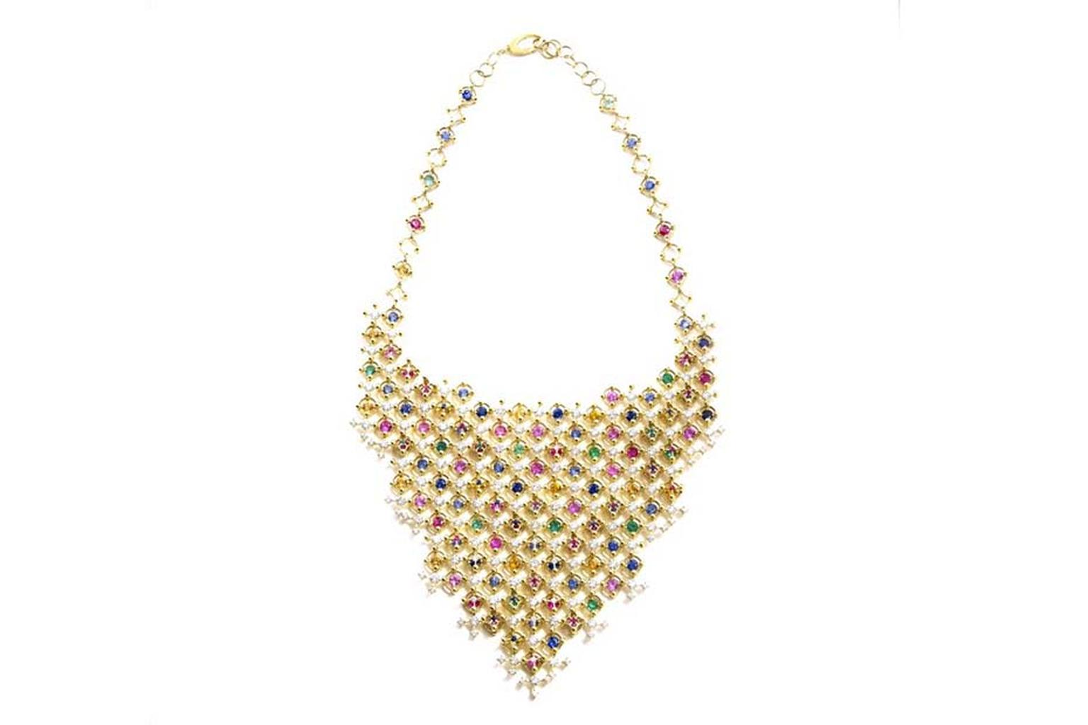 Rainbow jewels: cascades of colour in one of the most covetable jewellery trends of the season