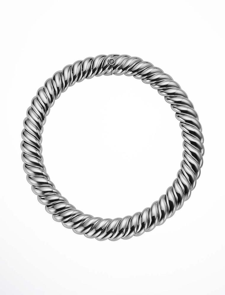 David Yurman Hampton Cable necklace in sterling silver ($2,950).