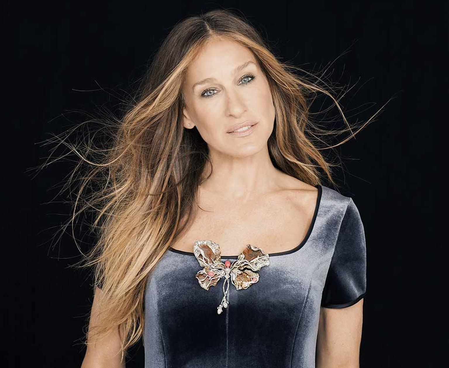 Actress Sarah Jessica Parker co-designed this magnificent Black Label Masterpiece Ballerina Butterfly brooch with Taiwanese jeweller Cindy Chao. It is set to be auctioned this autumn at Sotheby's in Hong Kong, with the proceeds going to the New York City