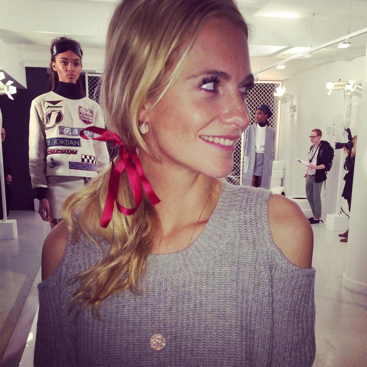 Astley Clarke's Icon pendant, as worn by British model and socialite Poppy Delevingne.
