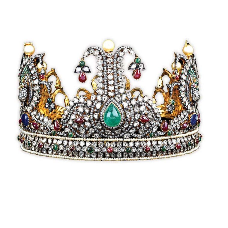 Miss Universe India pageant crown, created by Vijay Golecha in 2010.