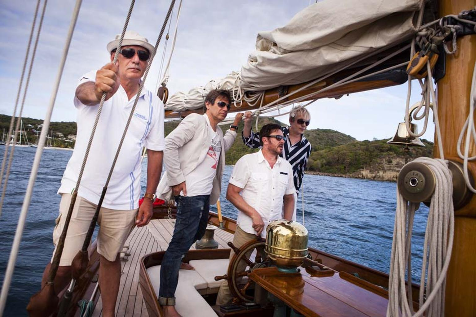 "Simon Le Bon sat in Eilean's stern during the Duran Duran music video of ""Rio"" in 1982, and this year Duran Duran returned to the Scottish ketch with Angelo Bonati, Panerai's CEO, during the Panerai British Classic Week in Cowes, on the Isle of Wright."
