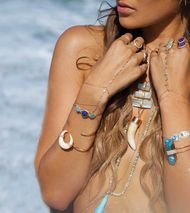 Jacquie Aiche jewellery: sexy bohemian jewels to be draped across the body