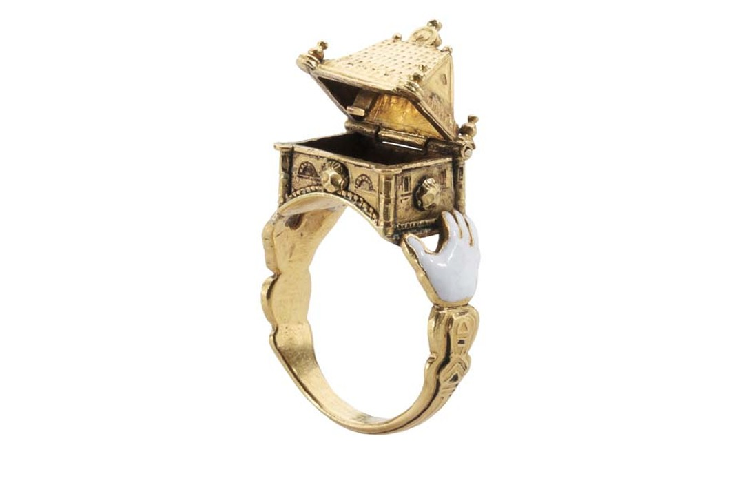 Les Enluminures Jewish Marriage ring.
