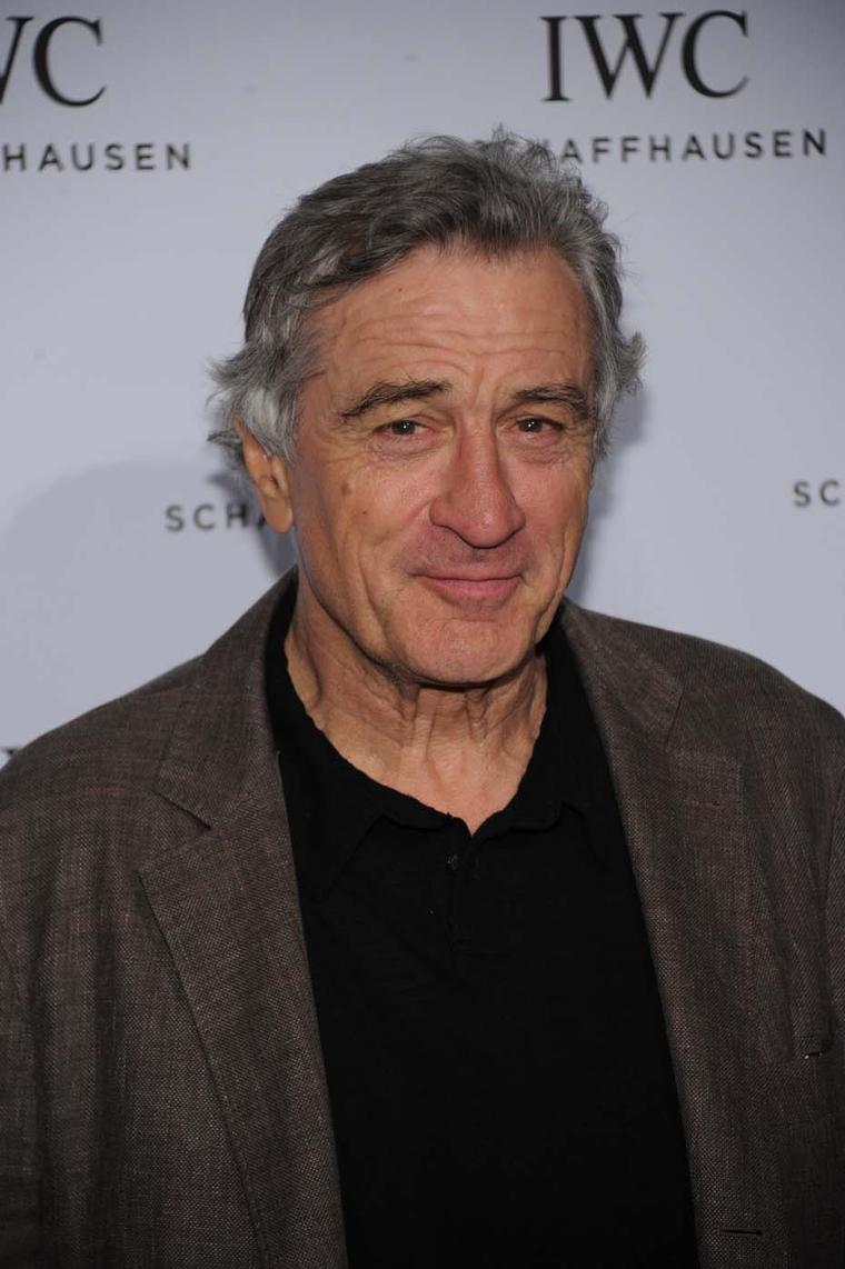 Actor Robert De Niro attends the IWC For the Love of Cinema event during the 2013 Tribeca Film Festival. Image by: IWC/David M. Benett.