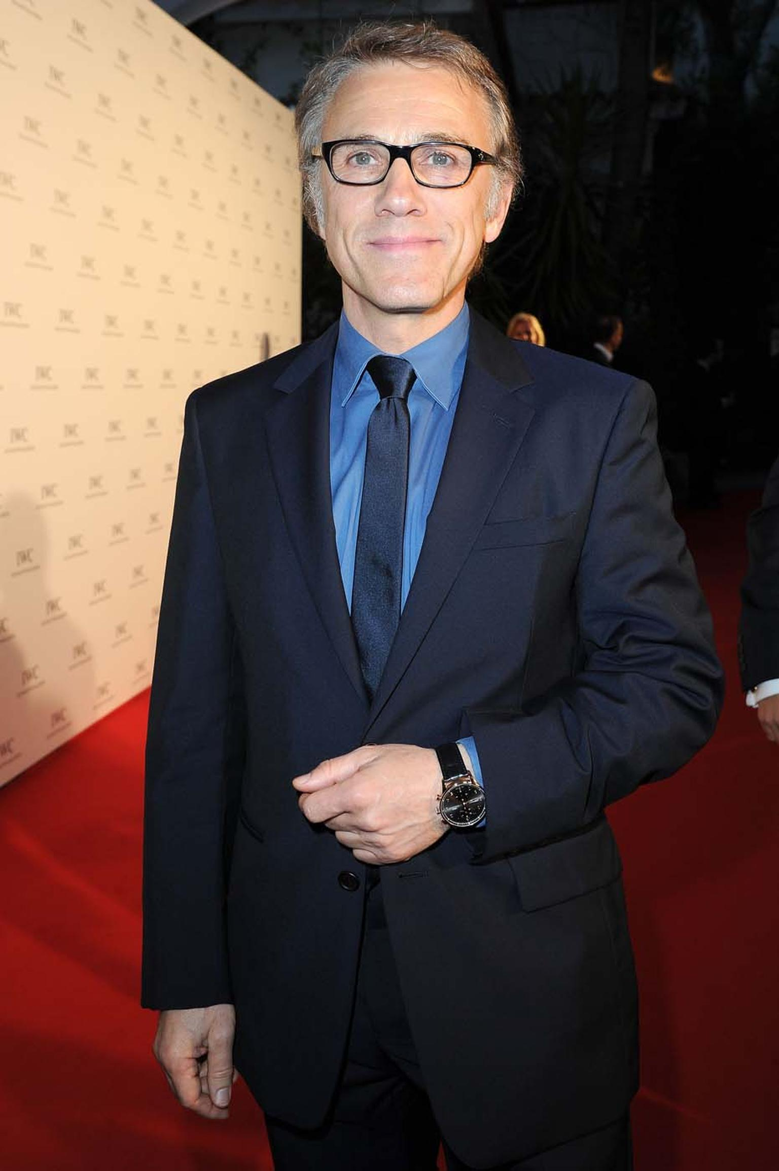 IWC has committed to supporting the BFI London Film Festival through to 2016. What's more, in 2015, IWC will be the headline sponsor of the BFI's fund raising gala Luminous to raise money for the BFI National Archive. Pictured is Christoph Waltz attending