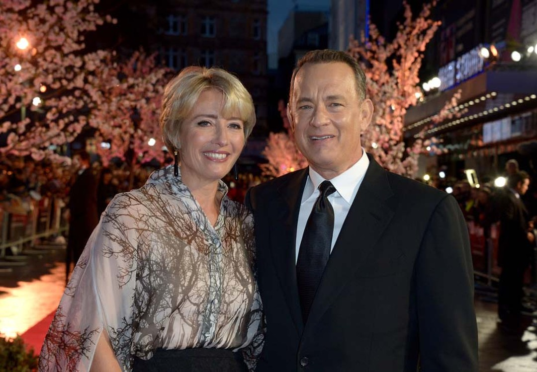 Emma Thompson and Tom Hanks on the red carpet of the BFI London Film Festival hosted by IWC. Image by: IWC/David M. Benett.