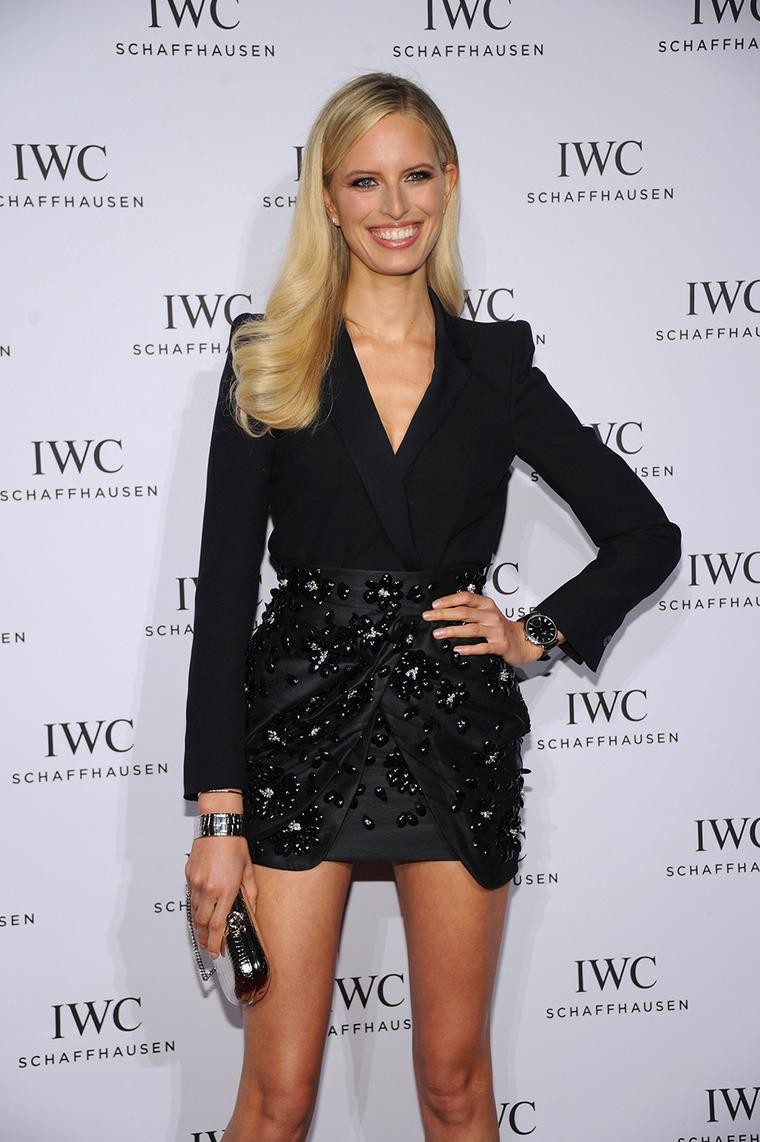 Model Karolina Kurkova attends the 2013 IWC For the Love of Cinema event at the Tribeca Film Festival in New York City. Image by: IWC/David M. Benett.