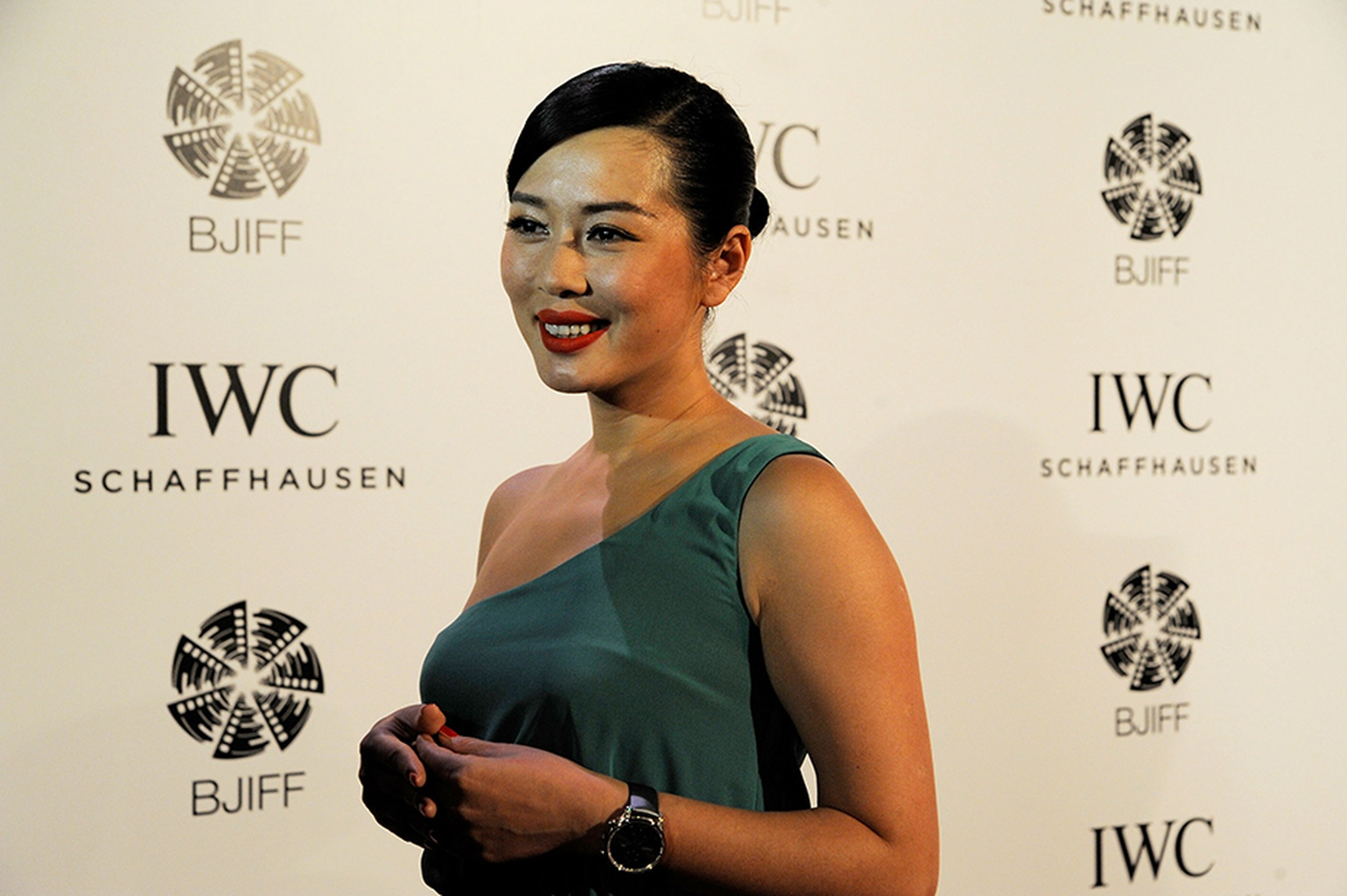 Actress Yu Nan attends the For the Love of Cinema event hosted IWC Schaffhausen at the Ming Dynasty City Wall on April 22, 2013 in Beijing, China. Image by: IWC/David M. Benett.