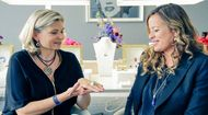 New Video: Maria talks to Jade Jagger about her Never Ending jewellery collection to be launched exclusively with 1stdibs