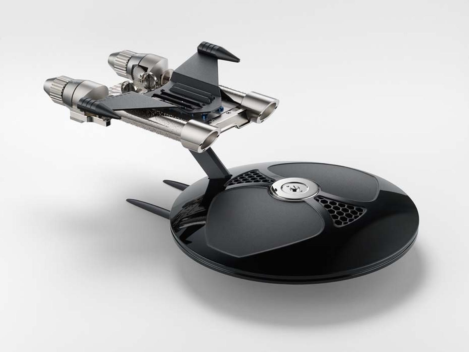 MB&F's MusicMachine2 is available in a limited edition of 33 pieces in white and 66 pieces in black.